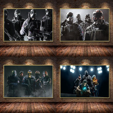 Rainbow Six Siege Game Oil Painting on Canvas Posters and Prints Cuadros Wall Art Pictures For Living Room Home Decor
