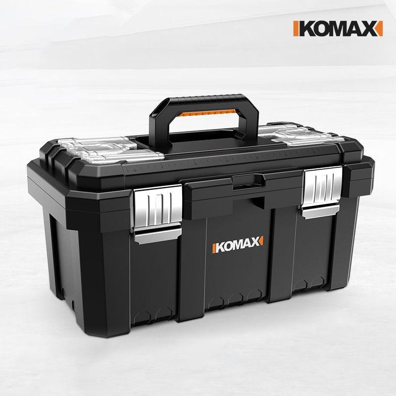 Household maintenance tool portable electrician box multifunctional large industrial grade hardware tool box car storage box