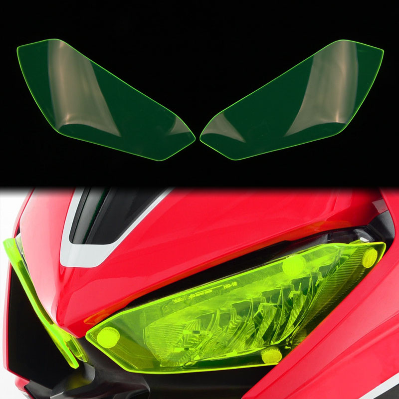 For HONDA CBR1000RR CBR1000 <font><b>RR</b></font> <font><b>CBR</b></font> <font><b>1000</b></font> <font><b>RR</b></font> <font><b>2017</b></font> 2018 Motorcycle Headlight Guard Head Light Lens Cover Protector image