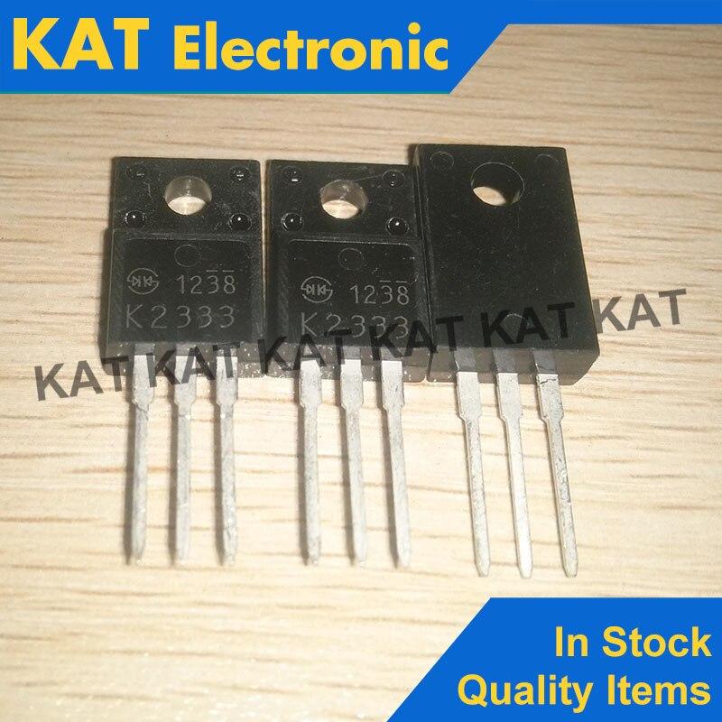 5PCS/Lot 2SK2333 K2333 700V 6A TO-220F