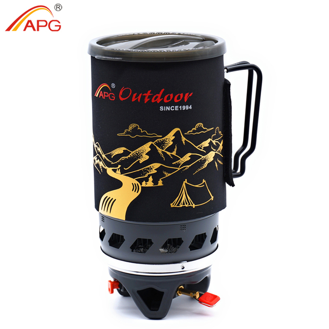 APG 1400ml Camping Gas Stove Fires Cooking System and Portable Gas Burners 3