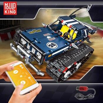 2020 RC Car RC Trucks Chinese LegoINGlys Technic Building Blocks Remote Control Car Vehicle Racer Kids Bricks Tank Kids Toys