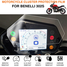 Motorcycle Cluster Scratch Protection Film Screen Protector For Benelli 302s