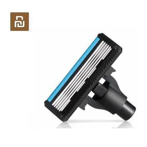 Image 1 - 4pcs original Youpin Men Razor shaver head made by German importing Shaving head Magnetic Replace the Clip kit