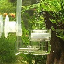 Co2 Diffuser with Bubble Acrylic Counter Aquarium Fish Tank Accessories