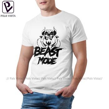 Beast T Shirt Mode T-Shirt Cute Short-Sleeve Tee Cotton Printed Streetwear Plus size Mens Tshirt