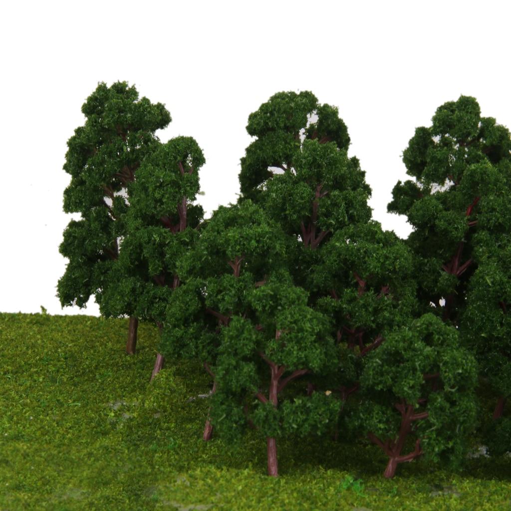 20 смешанных масштабные модели деревьев Поезд парк ландшафт для железной дороги расположение HO N Z датчик
