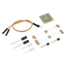 New 5MM LED Simple Flash Light Circuit Production Board DIY Kit Set hot new