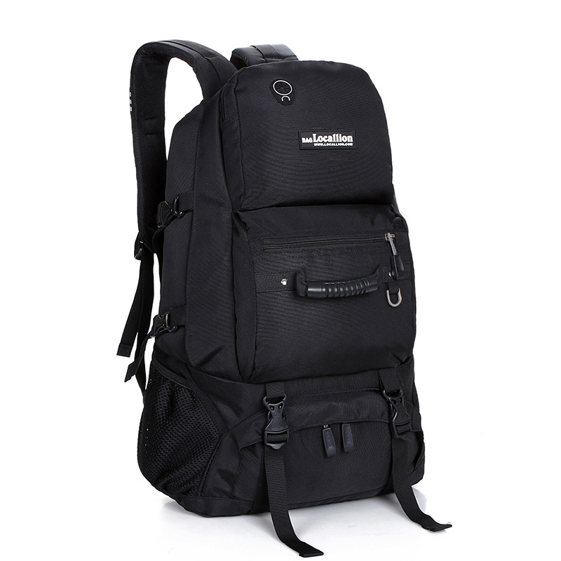 Backpack Men's Backpack MEN'S Travelling Bag Outdoor Portable Travel Bag Men's Casual Large-Volume Mountain Climbing School Bag