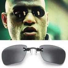 Lente Clipe No Nariz sem moldura Óculos Filme Matrix Morpheus Óculos Sem Aro Dos Homens Óculos De Sol Mulheres Oculos De Sol Gafas De Sol