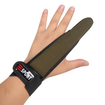 Casting Glove Finger Stall Protector Sea Fly Carp Fishing kamuflaż 4 kolory tanie i dobre opinie CN (pochodzenie) XHG076 antypoślizgowe Single finger Anti-Slip