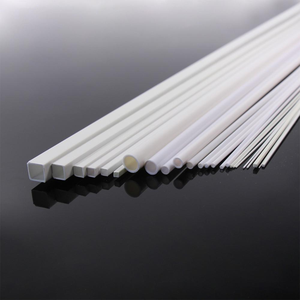 Image 3 - ABS00 48pcs Styrene ABS Rod, Pipes and Square Sections-in Model Building Kits from Toys & Hobbies