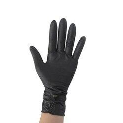 COFA UK czarne nitrylowe jednorazowe fajne rękawiczki bez zasilania X100 Tattoo Mechanic nowość w Rękawice do użytku domowego od Dom i ogród na