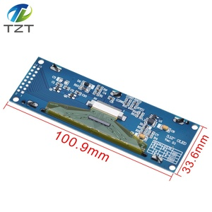 """Image 3 - TZT Real OLED Display  3.12"""" 256*64 25664 Dots Graphic LCD Module Display Screen LCM Screen SSD1322 Controller Support SPI"""