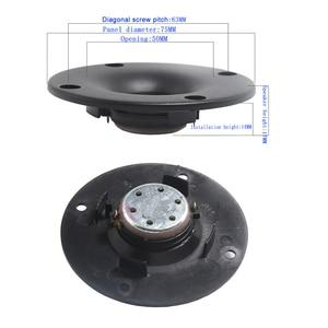 Image 4 - Tenghong 2 個 3 インチのツイータースピーカー 4Ohm 20 ワットアルミネオジム高音スピーカー本棚オーディオスピーカーホームシアター用 diy
