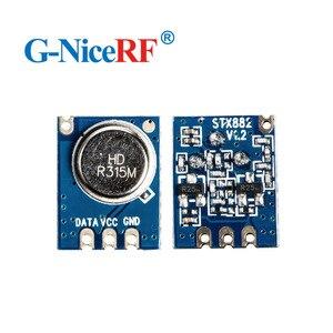 Image 5 - 10 יח\חבילה STX882 433 MHz/315 MHz ASK אלחוטי RF משדר מודול