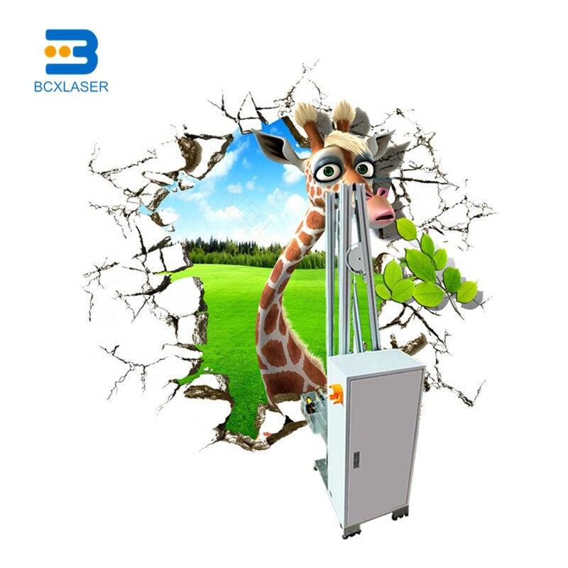 Good Price Customized Outdoor Wall Art Inkjet Printer 3D Wall Printing Machine