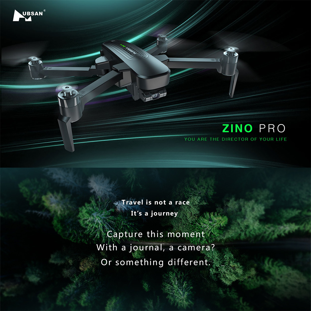 Image 2 - Hubsan Zino Pro GPS Drone with Camera 4K UHD Drone 5G WiFi 4km FPV Drone 3 Axis Gimbal Brushless RC QuadcopterRC Helicopters   -