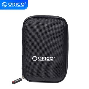 ORICO PHD-25 2.5 Inch HDD Protection Bag box for External Hard Drive Storage Protection case for HDD SSD Black/Blue/Green/PurPle(China)