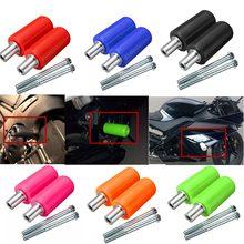 Универсальный ползунок для мотоцикла 10 мм, пара, защита от падения, для Yamaha, Suzuki, Honda, KTM, BMW