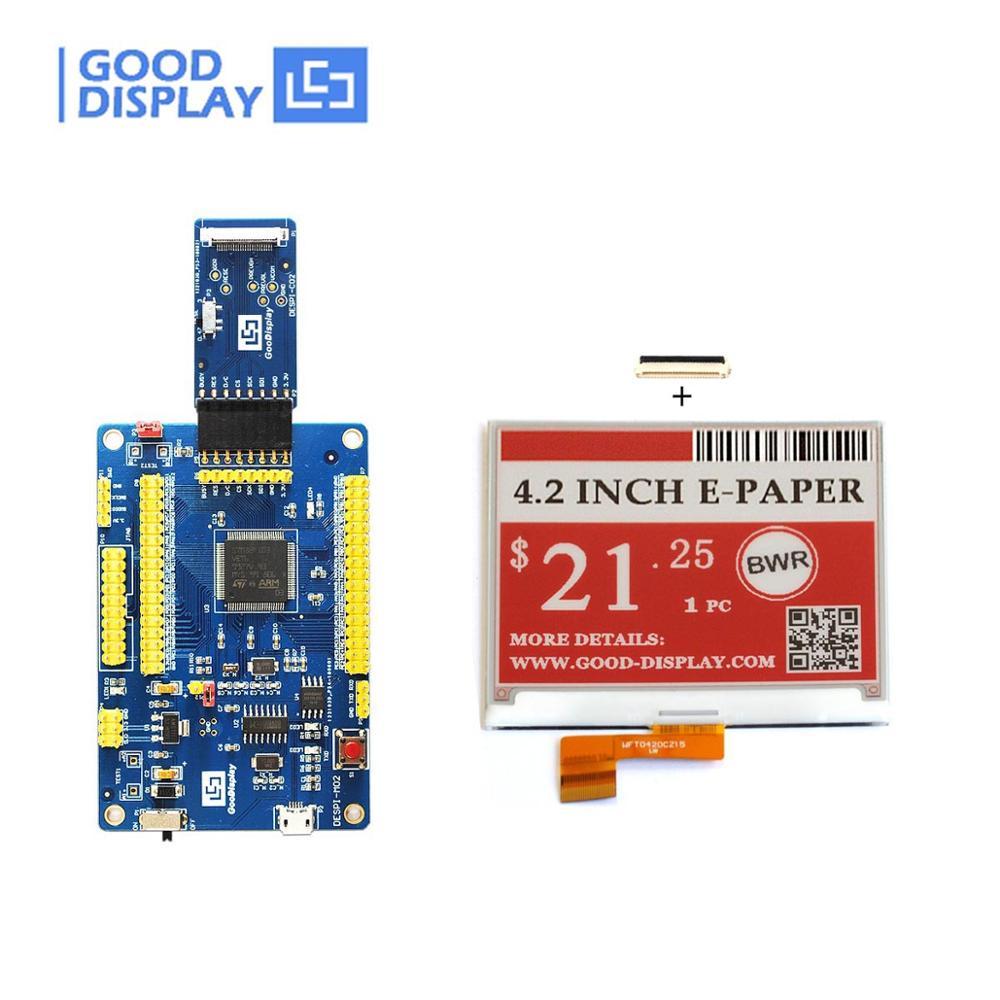 USB ポートプログラマブルデモキットと 4.2 インチ 3 カラー電子インクモジュール  グループ上の パソコン & オフィス からの 工業用コンピューター & アクセサリー の中 1