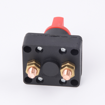In Red And Black 100A Battery Isolator Disconnect Power Cut/Off Kill Selector Switch For Boat/Car image