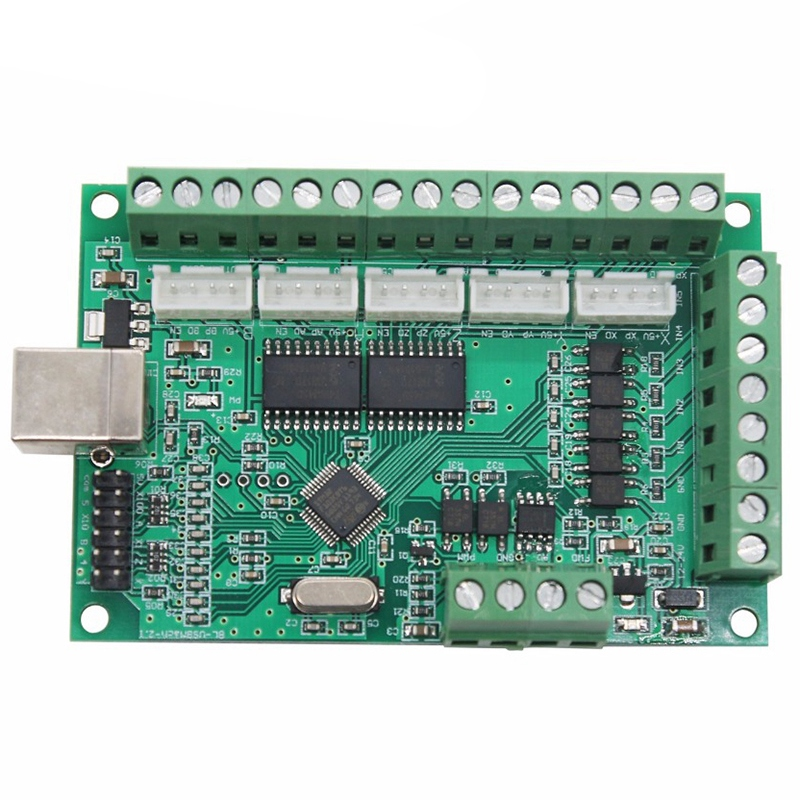5 Axis Mach3 Cnc Motion Controller Card Made With Plastic Material 1