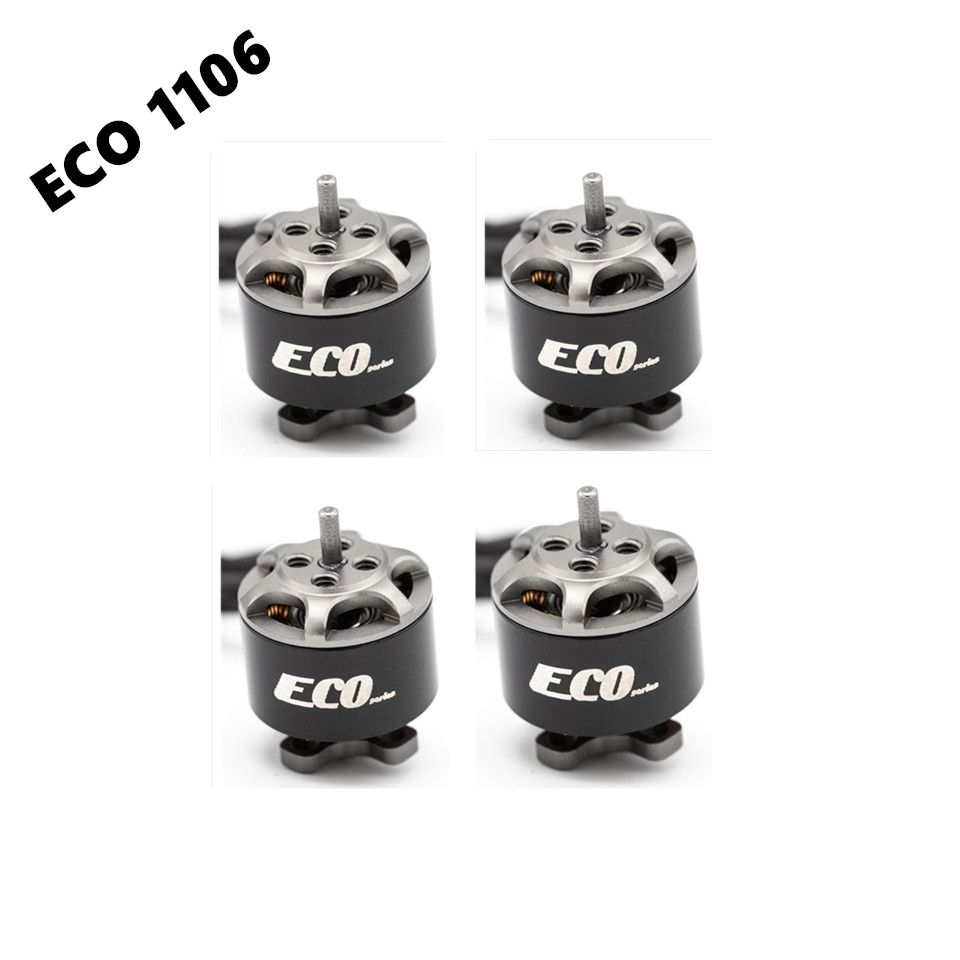 EMAX ECO 1106 <font><b>2S</b></font>~3S 4500KV 6000KV Brushless <font><b>Motor</b></font> For FPV Racing RC Tinywhoop Dron Spare Parts image
