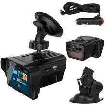 car 2 in 1 Dashcam antiradar combo speed camera registar signal anti radar dvr dash cam smart radar detector with recorder