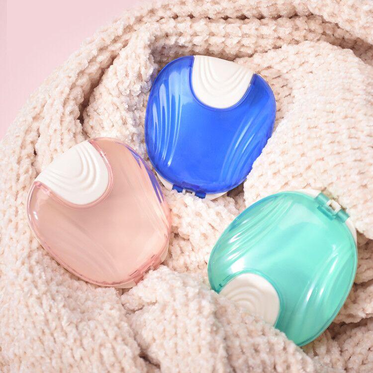 2020 Y-Kelin New Portable Fashion Press-to-Open Retainer Case  Fashion  Orthodontic Braces False Teeth Box