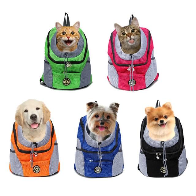 Pet Cat Dog Front Backpack Carrier Travel Bag  1