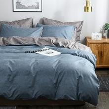 Bed Sheet Linen Cotton Linen Color Bed Sheet Quilt Cover Sheet  Bed Linen Set Queen Size   Comforter Bedding Sets