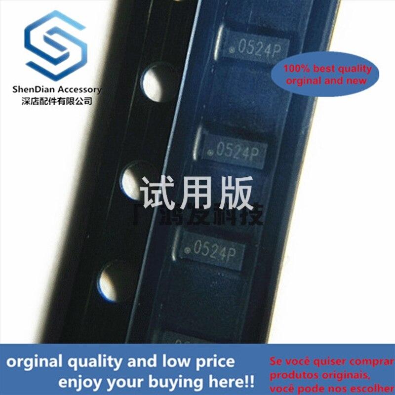 10pcs 100% Orginal New RCLAMP0524P.TCT TVS Diode Screen Printing Patch SLP2510P8