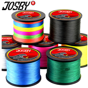 300M 500M 1000M 8 Strands 4 10-80LB PE Braided Fishing Wire Multifilament Super Strong Line Japan Multicolor
