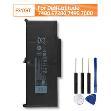 Оригинальный запасной аккумулятор f3ygt для ноутбука dell latitude
