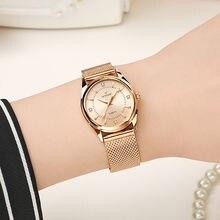 Wwoor модные брендовые женские часы роскошные с браслетом из