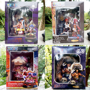 Image 2 - Action 23CM One PieceตัวเลขKAIDO BIGMOM SHANKS NEWGATE GK Fourth KingอะนิเมะOne Piece Figurine PVCรุ่นของเล่นเด็ก