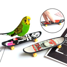 1PCS Finger Skateboard Professional Type Bearing Wheels Skid Pad Maple Fingerboard Skate Boarding Toys Cute Party Favor Toy Gift