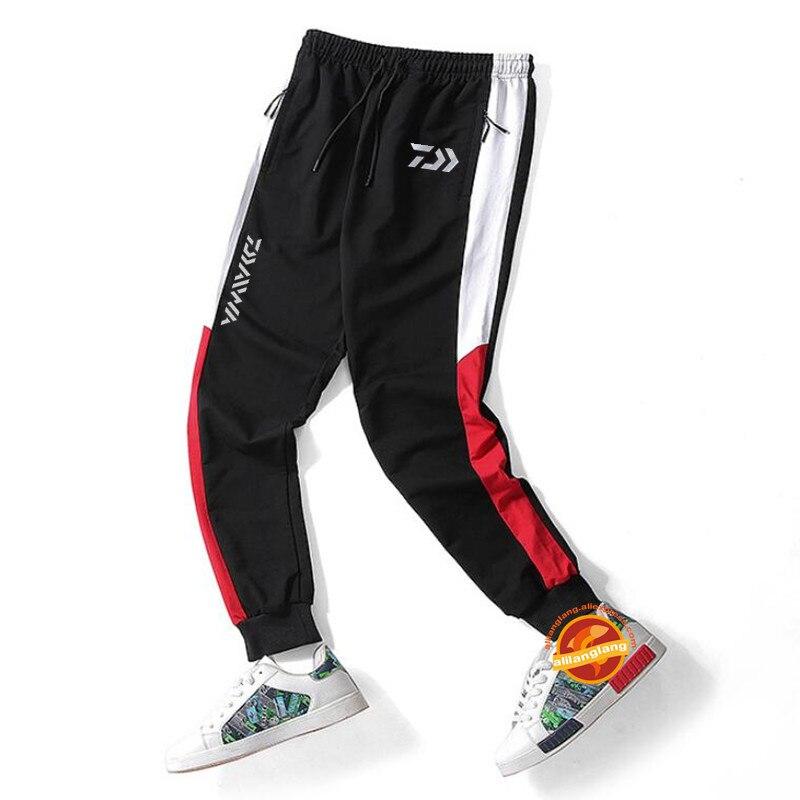 Spor ve Eğlence'ten Balıkçılık Giysileri'de Erkekler 3XL yeni Daiwa pantolon sıcak sezon yürüyüş Trekking balıkçı kıyafeti kamp pantolon büyük boy su geçirmez açık balıkçılık pantolon title=