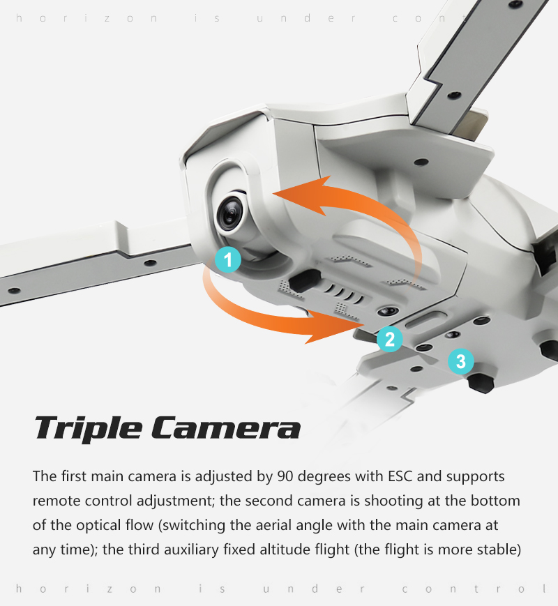 4K GPS Drone with Wifi FPV HD Camera Brushless Quadcopter For Long Flying Time 9