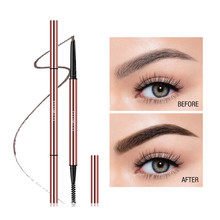 Pencil-Precise Makeup Eyebrow O.TWO.O Triangle Long-Lasting Waterproof 6-Colors Blonde