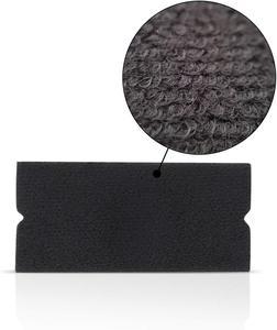 Image 3 - EHDIS 20/50/100pcs 펠트 직물 천을 10cm 스퀴지 탄소 섬유 비닐 자동차 포장 없음 스크래치 스크레이퍼 창 색조 포장 도구