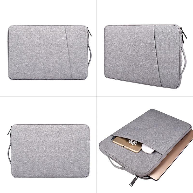 Men Women Laptop Bladder Bags Notebook Carrying Case Briefcase For Macbook Air 13.3 14 15.6 Inch Handbags Mouse Bag