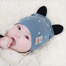 Cute Baby Boy Girl Autumn Winter Home Outdoor Hats Cotton Soft Warm Kid Hat Tree Print All Match Baby Hat стоимость