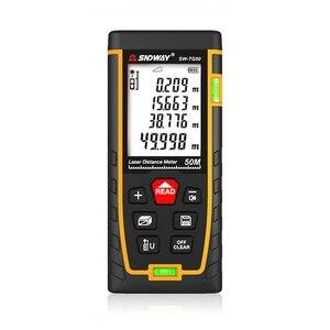 Image 2 - 50m 70m 100m 120m Laser Distance Meter  Laser Range Finder Rangefinder Metro Trena Laser Tape Measure Ruler Roulette Tool