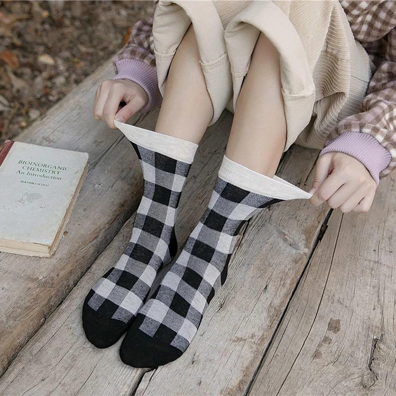 Plaid Panties And Knee Socks Png