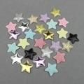 50 шт. 2,8 см блестящие звезды мягкие аппликации Детские аксессуары для волос нашивки материалы украшения «сделай сам» ремесло пентаграмма ти...