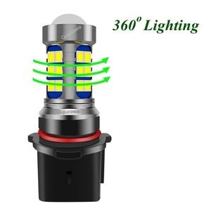 2 шт. H8 H11 HB4 9006 P13W PSX24W светодиодный ные лампы Автомобильные противотуманные лампы для вождения автомобиля передняя противотуманная фара 6000K белый Передние LED-фары для авто      АлиЭкспресс