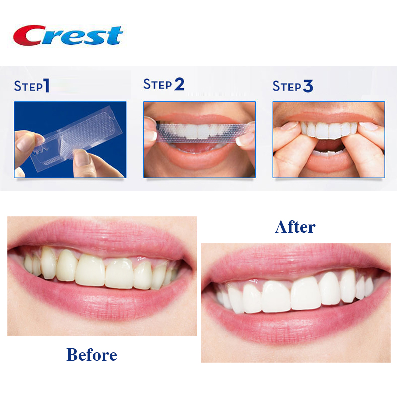 3d White Teeth Whitening Strips Original Dental Tooth Whiteing