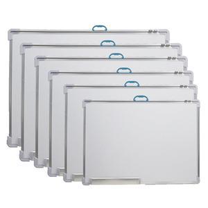 25/30/35cm Magnetic Whiteboard Dry Wipe Board Educational Drawing Messsage White Board Erasable Board With 1pc Random Marker Pen